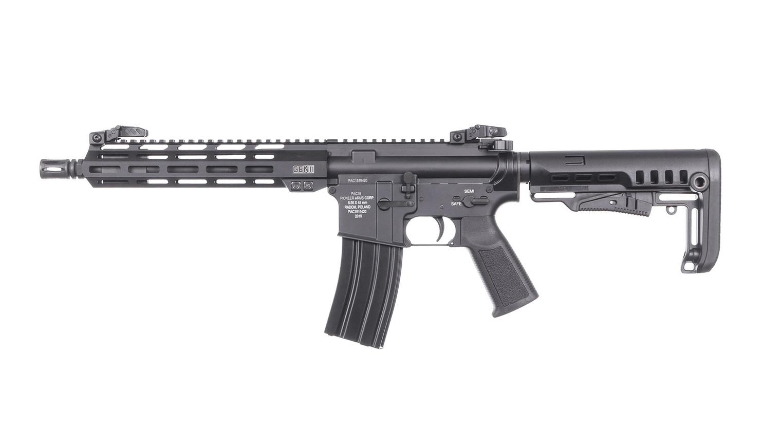 """Karabinek PAC15 10.5"""" - 5.56 x 45 mm"""